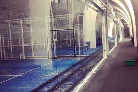 Fönsterputs Halmstad Padelcenter