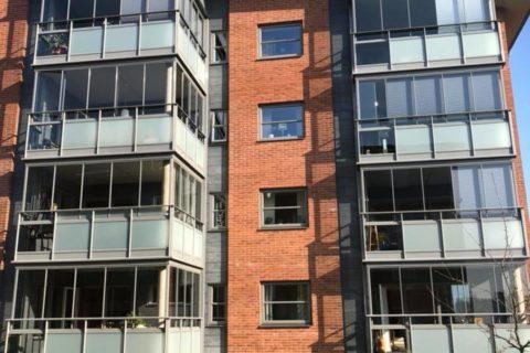 Fönsterputs Bostadshus